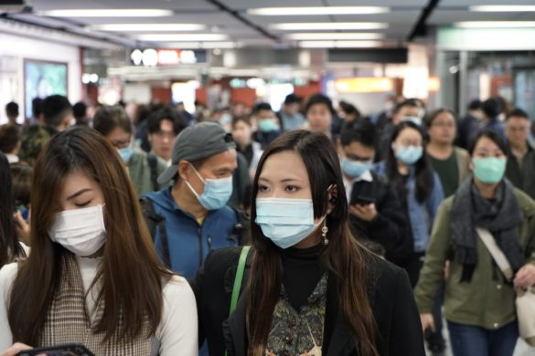 China infections in Wuhan