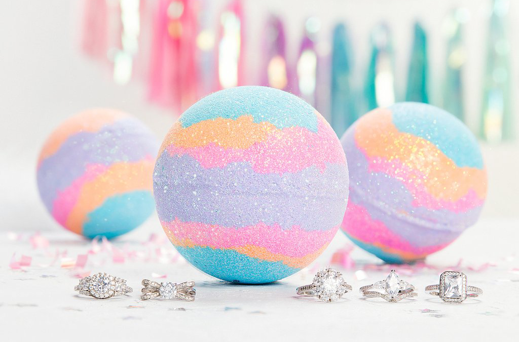 Before buying a Bath Bomb, check the ingredients to make sure if it is free of irritants