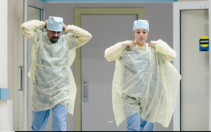 CDC – Wearing Gloves & Mask to prevent the Corona Infection