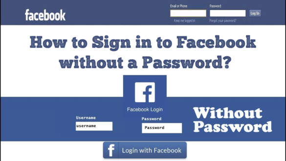How to Sign in to Facebook without a Password