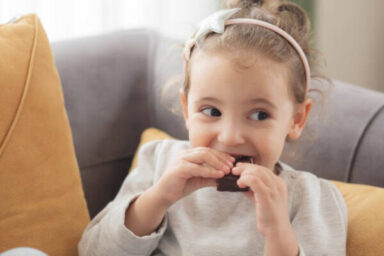 Eating Chocolates Healthy for Kids