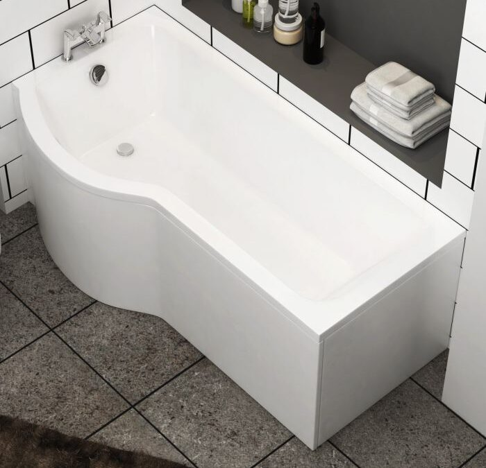 Add up grace with p shaped bath panel in your washroom