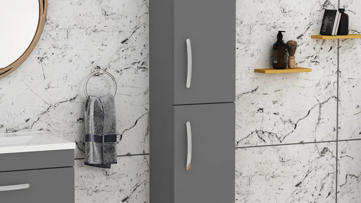 Create space with efficient bathroom storage cabinets