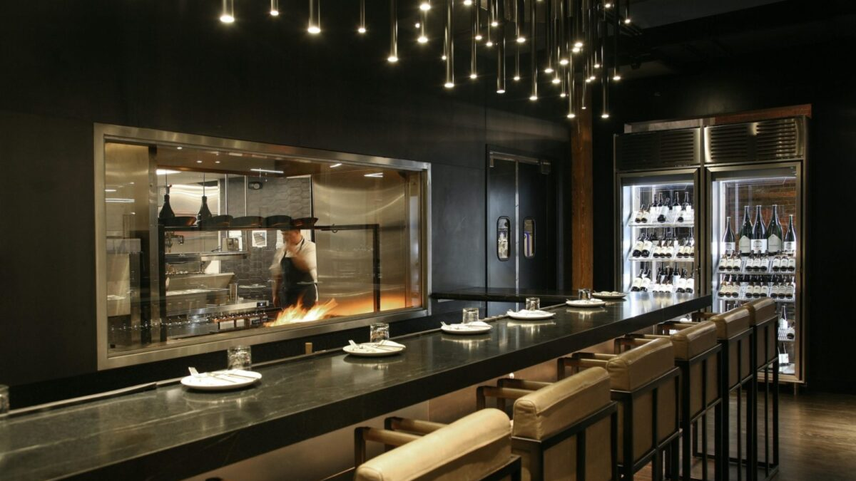 Designing the kitchen counter of a Café bar at home