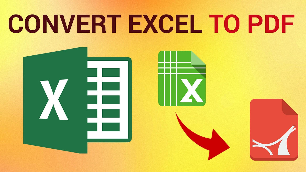 3 Hassle-Free Methods To Convert Excel Files To PDF